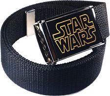 Stars Wars Classic Logo Belt Buckle Bottle Opener Adjustable Web Belt