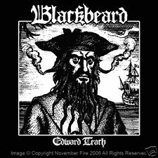Blackbeard Edward Teach Pirates of the Caribbean Pirate Black Sails Shirt NFT269