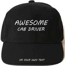 Awesome CABINA driver personalizzato Cappellino Cappello Regalo di Natale