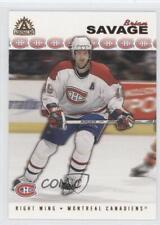 2001-02 Pacific Adrenaline #100 Brian Savage Montreal Canadiens Hockey Card