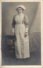 Newport studio photo. Nurse by Harry Abrahamson, Crown Studios, Newport.