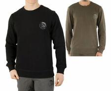 DIESEL UMLT WILLY Mens Sweatshirt Long Sleeve Pullover Jumper Lounge Wear