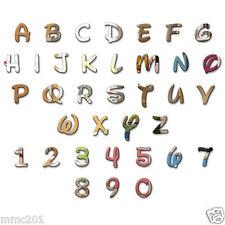 Acrylic Mirror Disney Letters Alphabet Children Name Plaque Wall Various Sizes