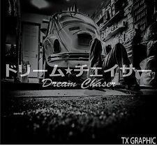 Dream Chaser Decal Japanese Vinyl Sticker JDM  Stance Lowered  Drifted Illist
