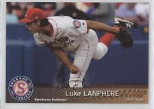 2016 Grandstand Spokane Indians #25 Luke Lanphere Rookie Baseball Card