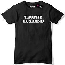 Trophy Husband Funny Mens Premium T-Shirt Tee