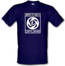 BRITISH LEYLAND UK Car Industry RETRO Logo Heavy Cotton t-shirt SIZES S-XXL