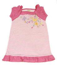 ABSORBA Toddler Girl's Striped Ruffled Cap Sleeve Dress 2T 3T 4T ATTG5244