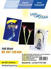 100Bl.A4 Overheadfolien Overhead OHP Folie  für S/W Laserdrucker von LabelOcean