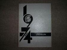 1974 Atlantic (Iowa) High School Javelin Yearbook - Perfect! -  Miss Susan Diaz