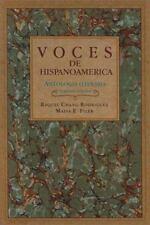 Voces de Hispanoamérica: Antología literaria, Filer, Malva E., Chang-Rodriguez,