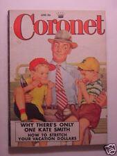 CORONET June 1952 Behind the IRON CURTAIN KATE SMITH THOMAS GRAY The Circus +++