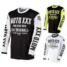O 'neal moto XXX motocross jersey original equipo camiseta MTB DH MX downhill