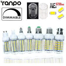Dimmable LED Corn Bulb 6W To 30W E26 E27 E12 E14 G9  GU10 5730 SMD Light Lamp