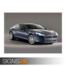 Aston Martin Rapide Voiture (0557) Voiture Poster-Photo Poster print ART * Toutes Les Tailles