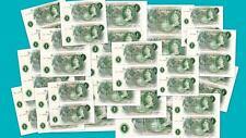 Large Selection Consecutive Pair O'Brien £1 banknotes 1960's