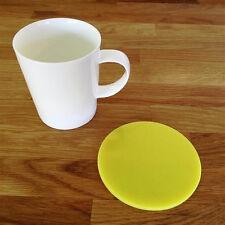 Round Coaster Set - Yellow