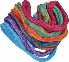 Commerce Équitable Coton Tricot Double Wrap Seamless Hippy Boho Stretch Bandeaux Liens