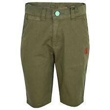 Boys Shorts Kids Olive Chino Shorts Summer Knee Length Half Pant New Age 2-13 Yr