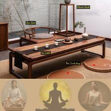 SolidWood Zazen Chair Zen Seat Yoga furniture Palace Chair Tea Table Flower Rack
