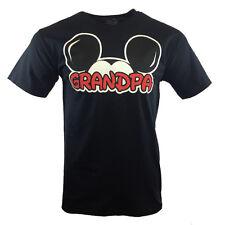 "DISNEY Men's T-shirt Mickey Mouse Ears ""GRANDPA"" Family Disneyland FATHER'S DAY"