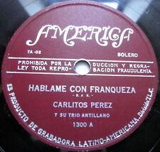 CARLITOS PEREZ Y SU TRIO ANTILLANO LATIN 78