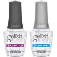 Harmony Gelish Foundation Base Coat-or Gelish Top it off 15ml * sale *