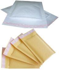 Compack GOLD & WHITE IMBOTTITO BUSTE SEAL STRISCIA Bubble Mailer Pouch
