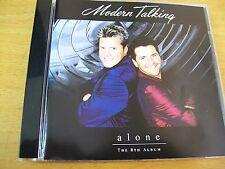 MODERN TALKING ALONE  CD MINT--- 1 BONUS TRAK