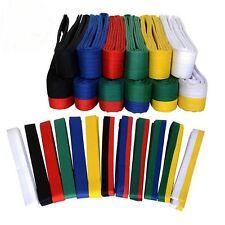 Taekwondo Belt Karate Double Wrap Belt Martial Arts All Colors Professional New