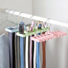 Tie Belt Scarf Hanger Hanging Rack Holder Storage Organiser Tool New CB