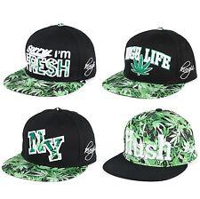 Embroidered Snapback Hip Hop Hat