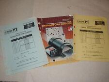 1989 A-1 Cardone Mass Airflow Sensor Parts Catalog Book