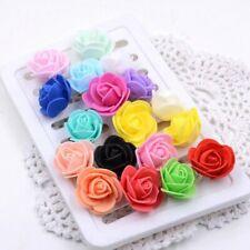 Mini Roses Foam Rose Artificial Flowers Decoration For Wedding Festive Gift DIY