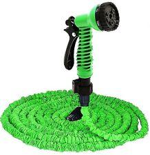 Garden Hose Pipe Spray Gun Expendable Flexible Non Kink New