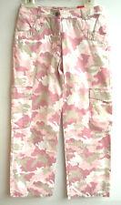 SANETTA Girls Sommerhose camourflage  rosa natur Gr.  146 152  MID  UVP 39,95 €