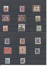 Danzig, Gdansk 1921-22, Einzelmarken aus Michelnrn: 73 - 107 o, BPP gestempelt o