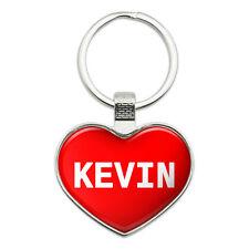 Metal Keychain Key Chain Ring I Love Heart Names Male K Kevi