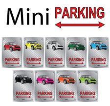Parking Sign Metal New Mini - Checkerplate Look