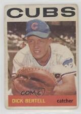 1964 Topps #424 Dick Bertell Chicago Cubs Baseball Card