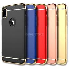 COVER CUSTODIA PROTEZIONE RIGIDA per Apple iPhone X Antiurto Ultra Sottile Slim