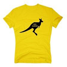 Australien T-Shirt Kangaroo 100% Aussie Australia Down Under Sydney S-3XL