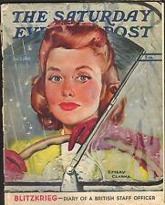 DEC 7 1940 SATURDAY EVENING POST vintage magazine WIND SHIELD WIPERS