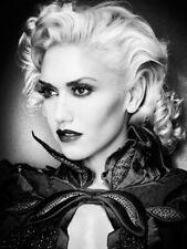 Gwen Stefani Beautiful Portrait BW Rare Huge Giant Print POSTER Affiche