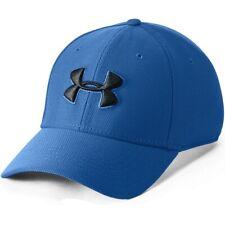 New Men's Under Armour Printed Blitzing 3.0 Baseball Cap Hat - Blue