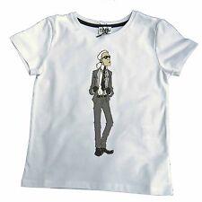 Karl Lagerfeld KIDS t-shirt Karl blanc 98 104 110 116 122 128 134 140 146 152