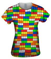 Yizzam- Rubix Pattern - New Womens Top Shirt Tshirt XS S M L XL 2XL 3XL 4XL