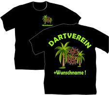 Dartshirt Dart T Shirt Hemden Dartclub Dartverein Bekleidung Motiv Funshirt 55
