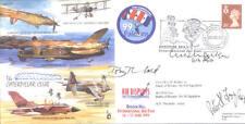 CC63c Battle of Britain Caterpillar Club RAF cover signed WILLIAM WALKER & FOX