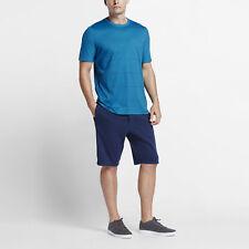 Nike NikeCourt x Roger Federer RF Men's Printed Top 844819 413 Blue Sz S M L